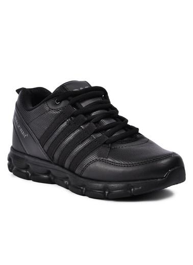 Walkway Wlk231876 Füme-Beyaz Kadın Spor Ayakkabı Siyah